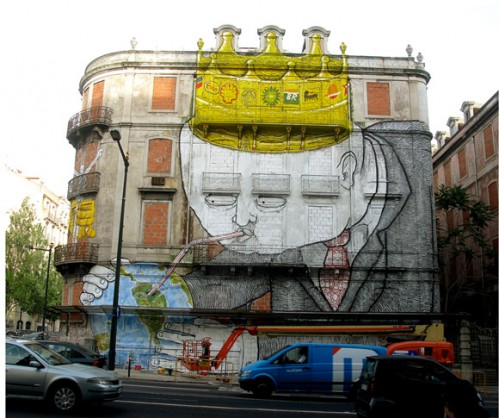 graffiti edificio