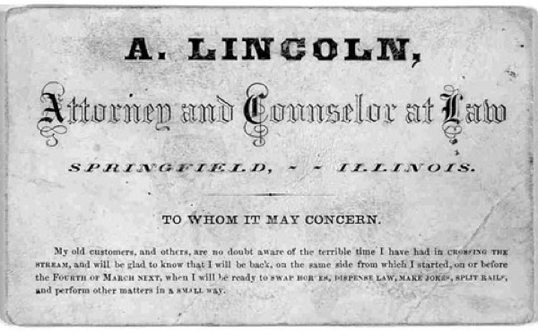 famous-business-cards-lincoln
