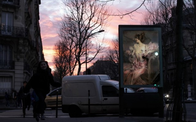 Artist-Replaces-Billboard-Ads-with-Classic-Art-in-Paris-2-640x398
