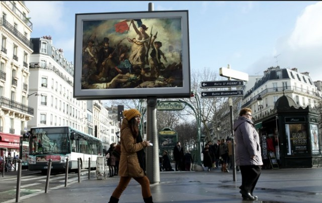 Artist-Replaces-Billboard-Ads-with-Classic-Art-in-Paris-4-640x404