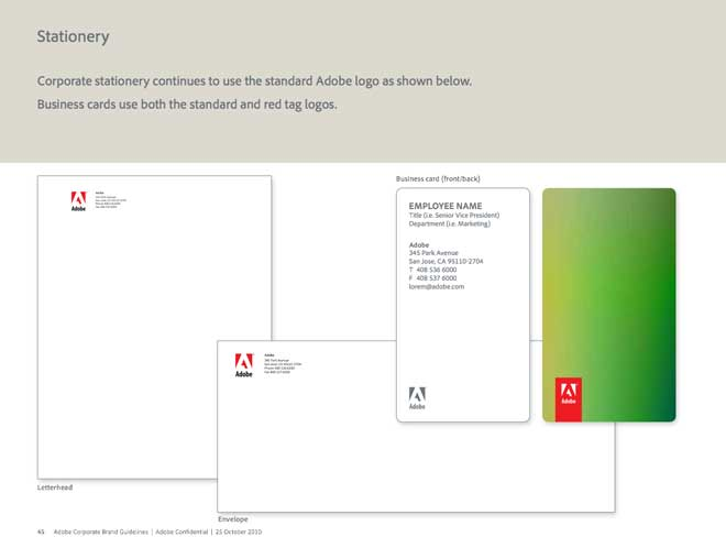 Adobe Corporate Brand Guidelines