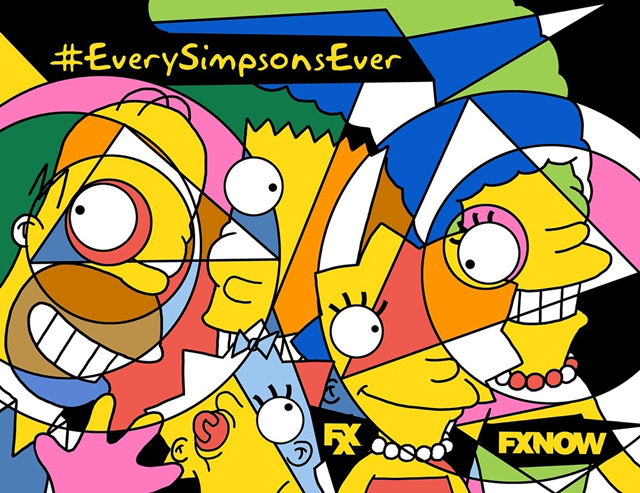the simpsons fxx poster_1