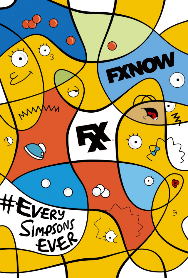 the simpsons fxx poster_2