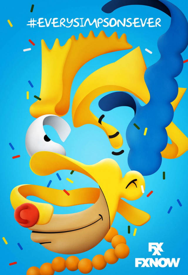 the simpsons fxx poster_3