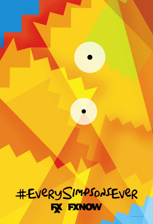 the simpsons fxx poster_4