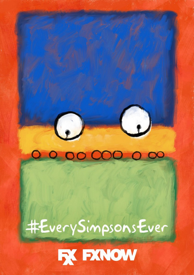 the simpsons fxx poster_9