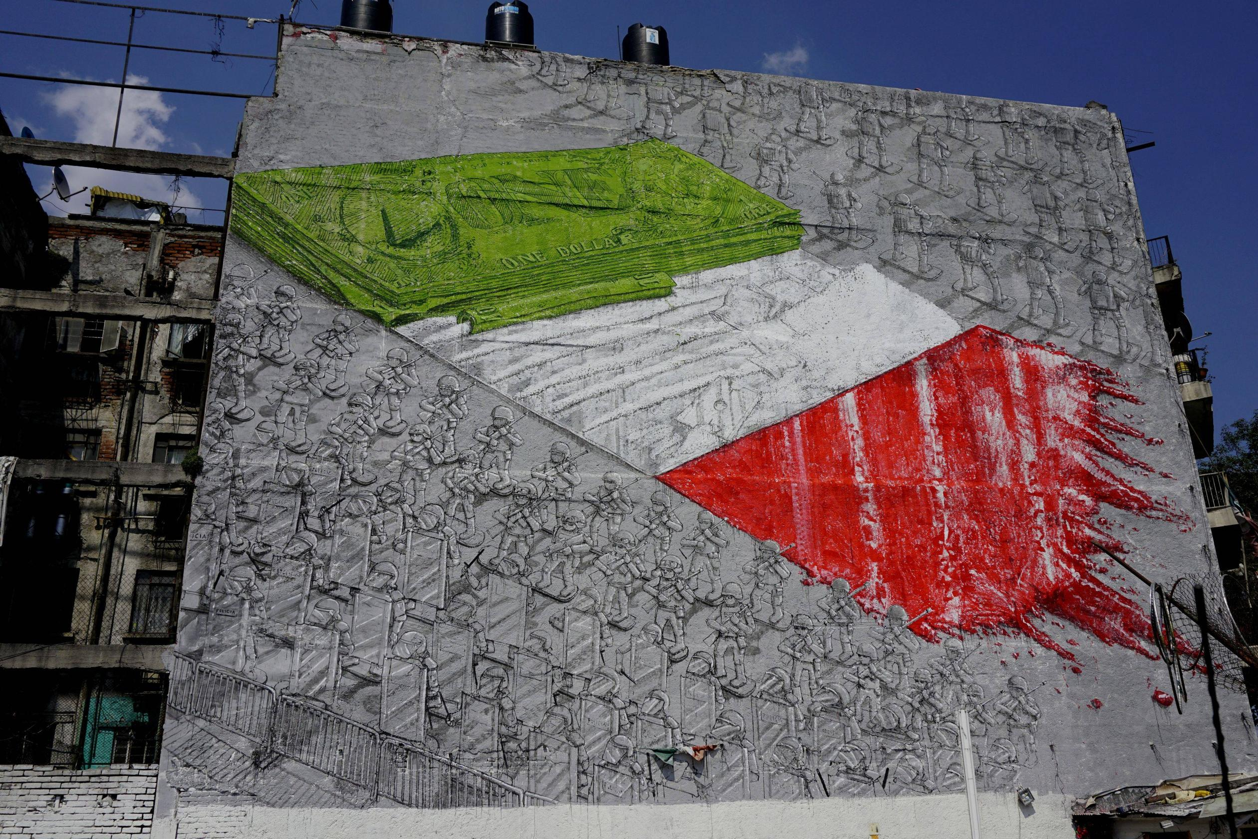 MUTO a wall-painted animation by BLU on Vimeo