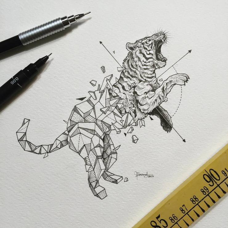 Abstract-Geometric-Animal-Illustrations-By-Kerby-Rosanes-07