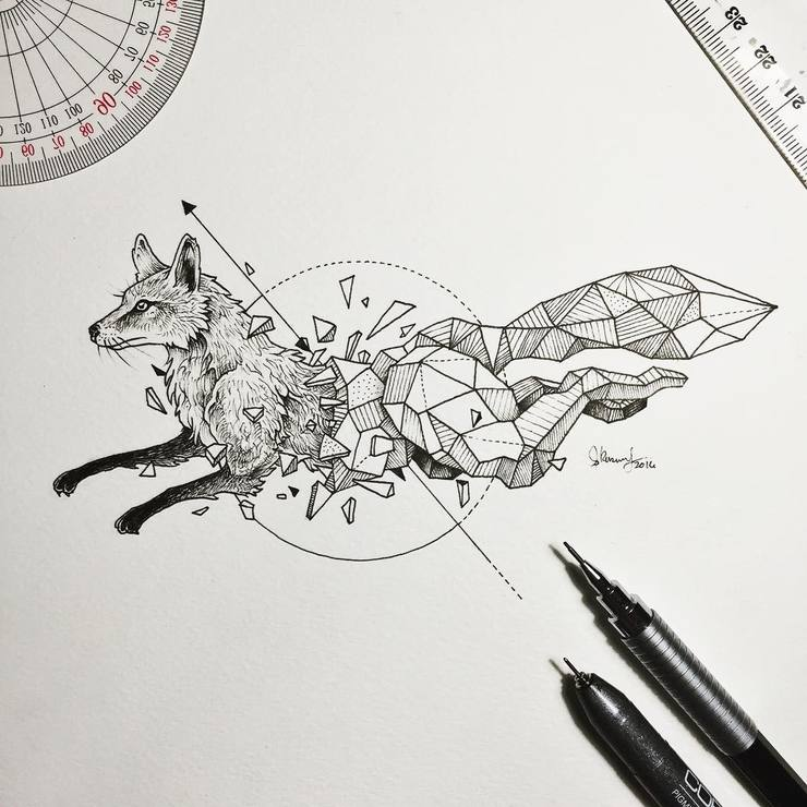 Abstract-Geometric-Animal-Illustrations-By-Kerby-Rosanes-08