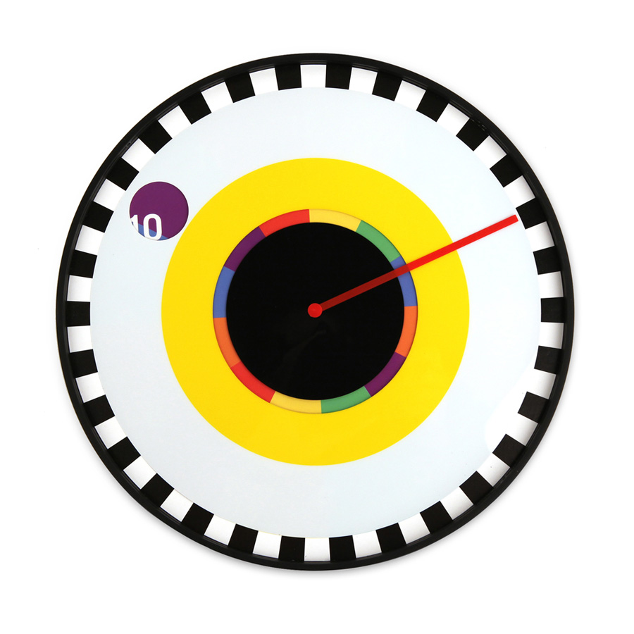 milton-glaser-Kikkerland Sprocket clock