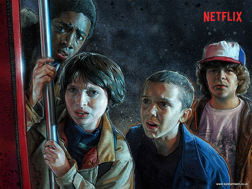 kyle-lambert-stranger-things-paintings