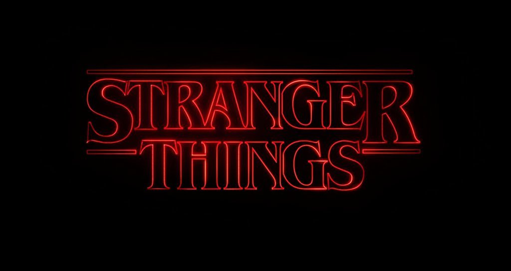 stranger things typography