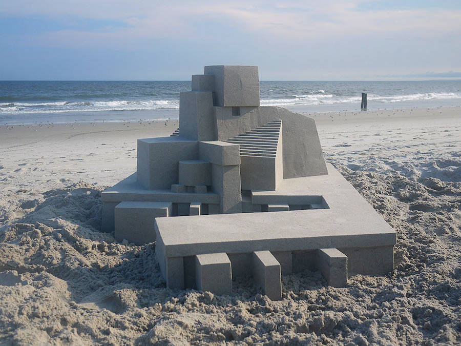Mind-blowing-Geometric-Sandcastles-by-Calvin-Seibert-1-900x675