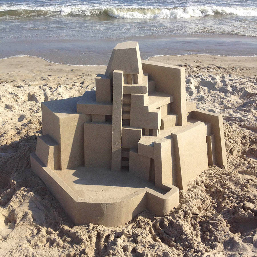 Mind-blowing-Geometric-Sandcastles-by-Calvin-Seibert-9-900x900